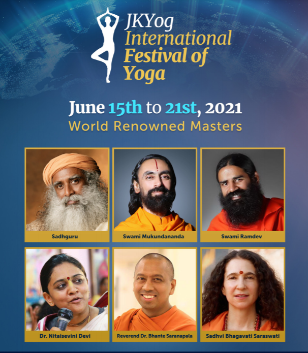 The JKYog International Festival of Yoga 2021